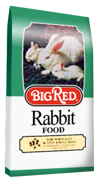 Big Red Rabbit Food